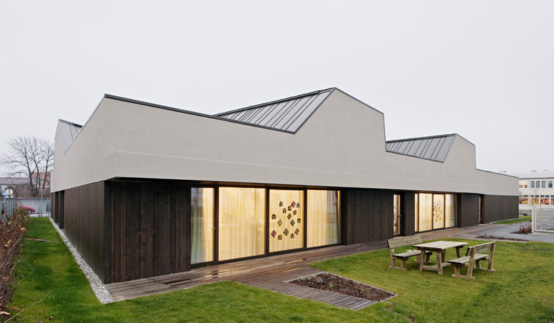 Kindergarten In Ternitz / AllesWirdGut Architektur