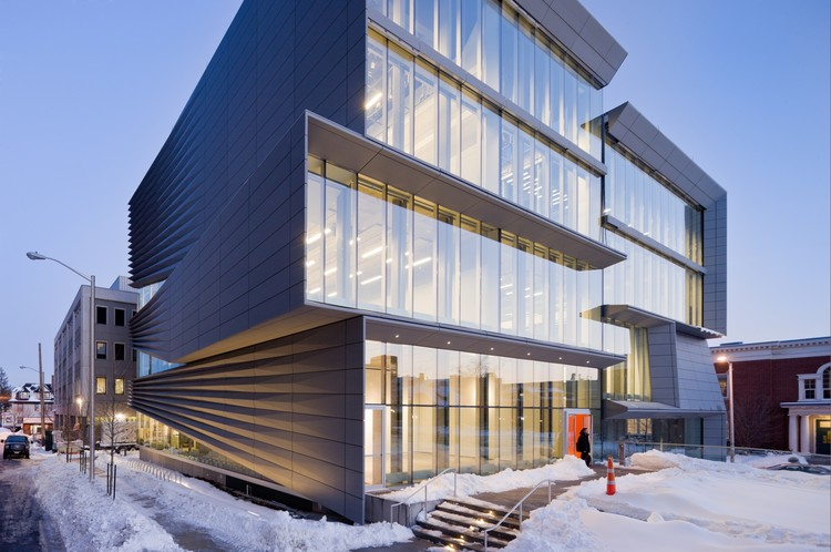 Perry and Marty Granoff Center for the Creative Arts, Brown University / Diller Scofidio + Renfro, ©  Iwan Baan