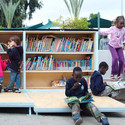 The Garden Library for Refugees and Migrant Workers / Yoav Meiri Architects