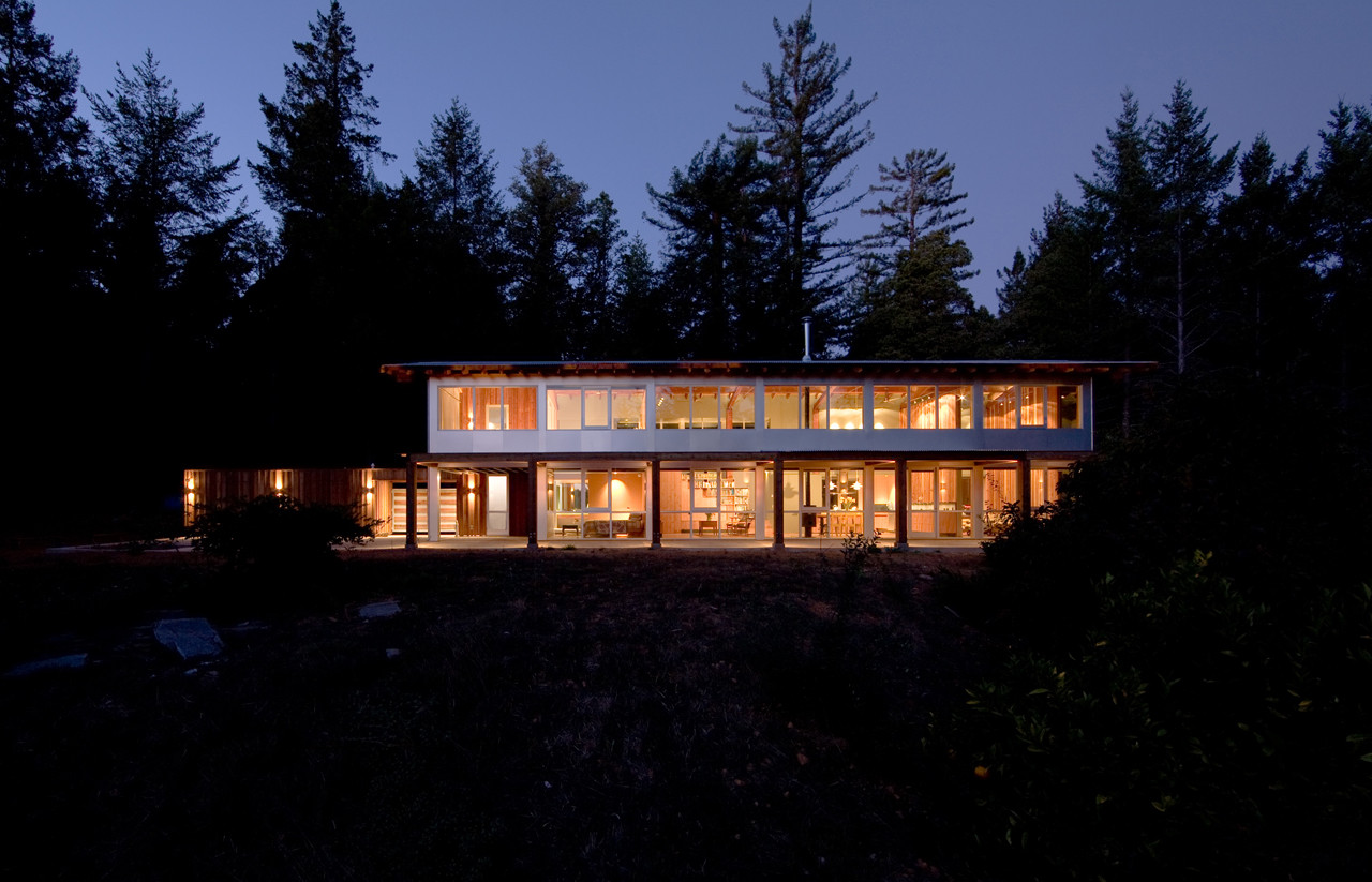 House for Two Artists / Marcy Wong Donn Logan Architects, © Mark Citret Photography