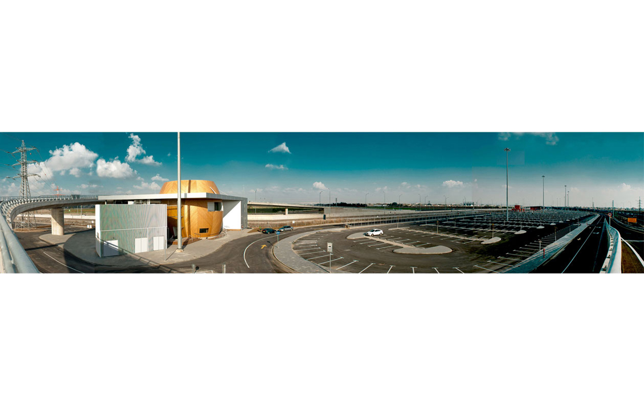 Tel Aviv Fastlane Control and Coordination Center / Amir Mann-Ami Shinar Architects