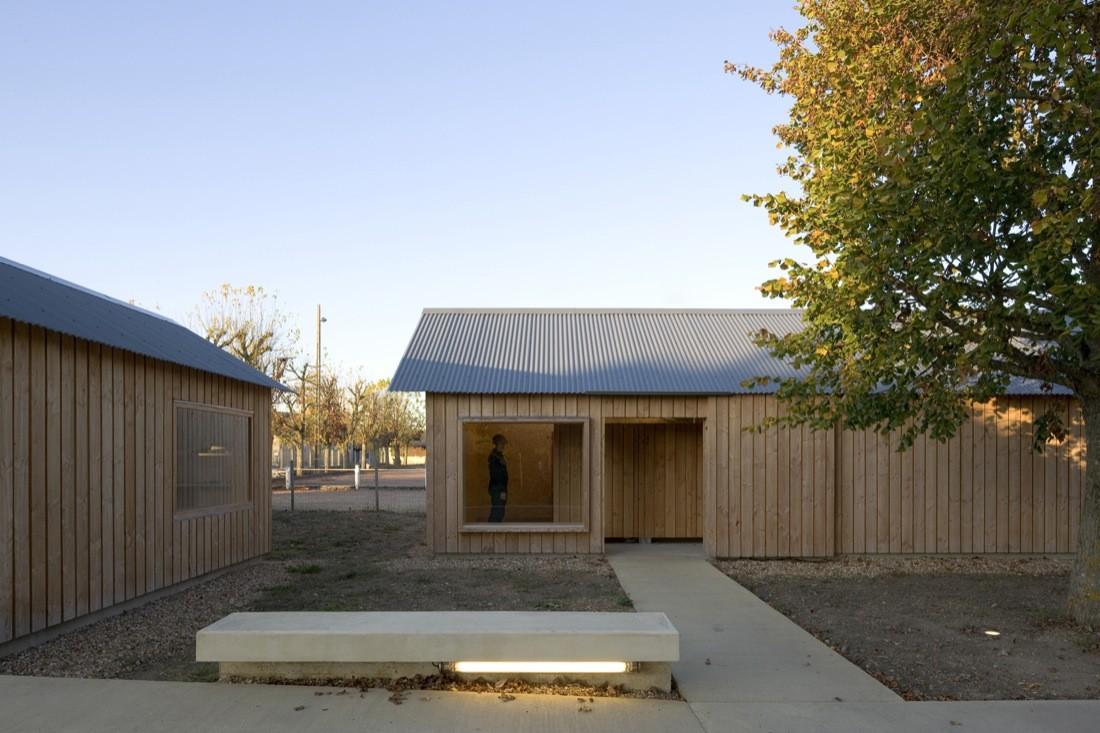 Vass Municipal Campground / Julien Boidot Architect, © Stéphane Chalmeau