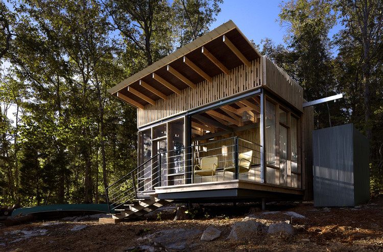 Refugio en Cape Russell / Sanders Pace Architecture, © Jeffrey Jacobs