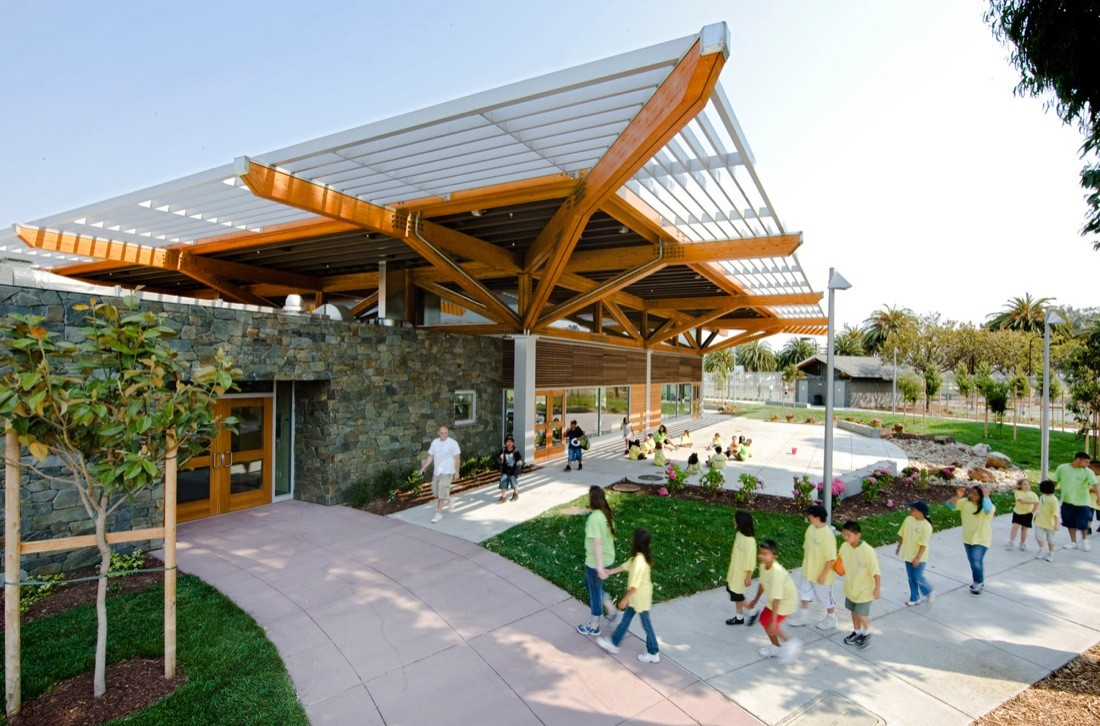 Orange Memorial Park / Marcy Wong Donn Logan Architects, © Sharon Risedorph