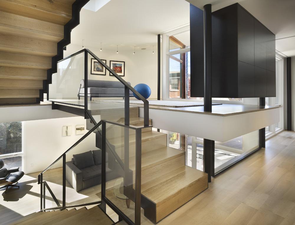Gallery Of Split Level House Qb Design 11
