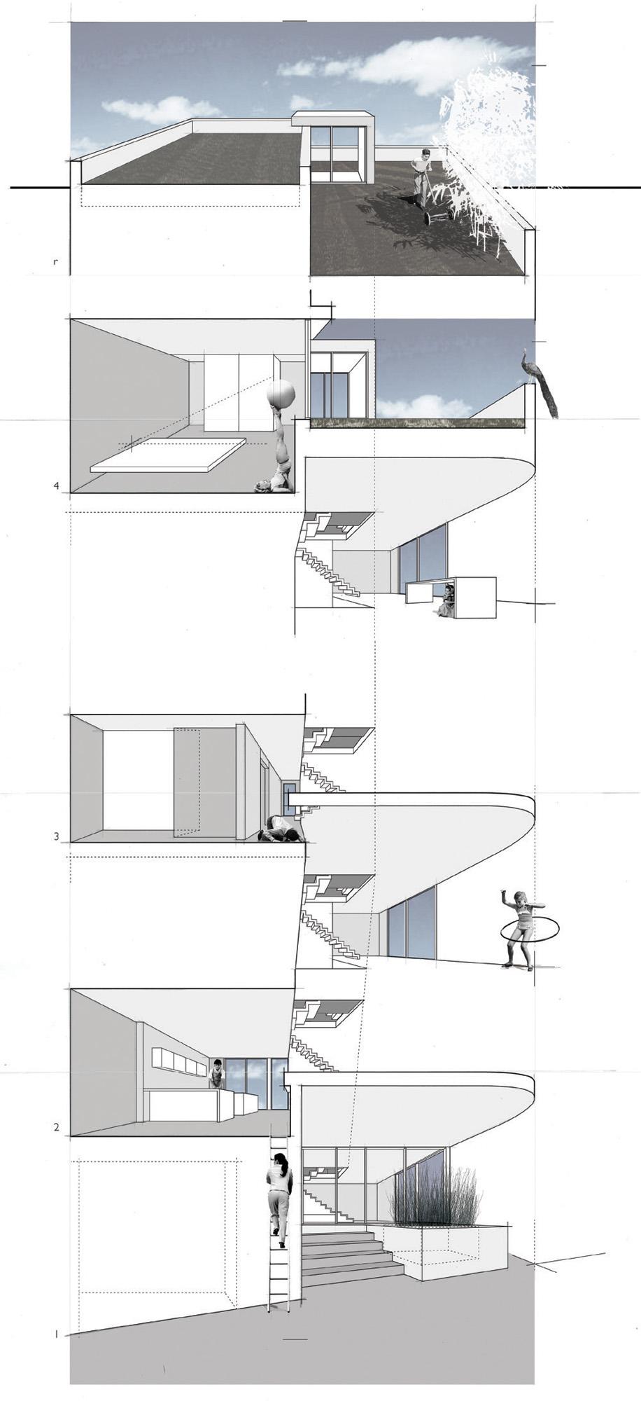 gallery of split level house qb design 22 split level house qb design