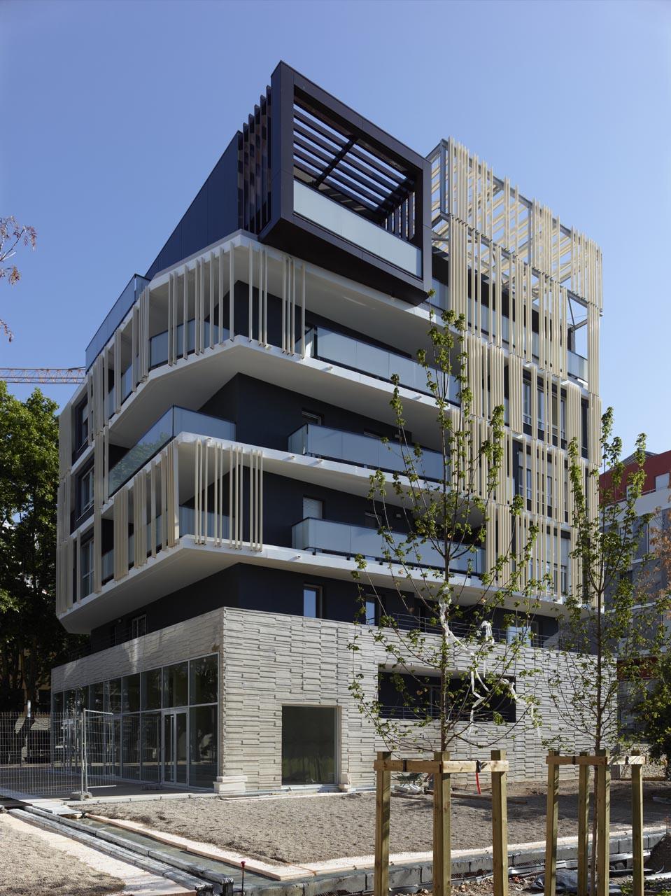 Gallery of corim logements mdr architectes 8 for Architecte montpellier