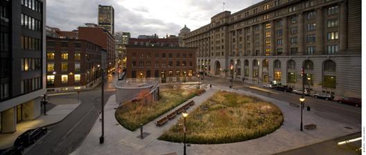 Square des Frères-Charon / Affleck + de la Riva Architects, © Marc Cramer