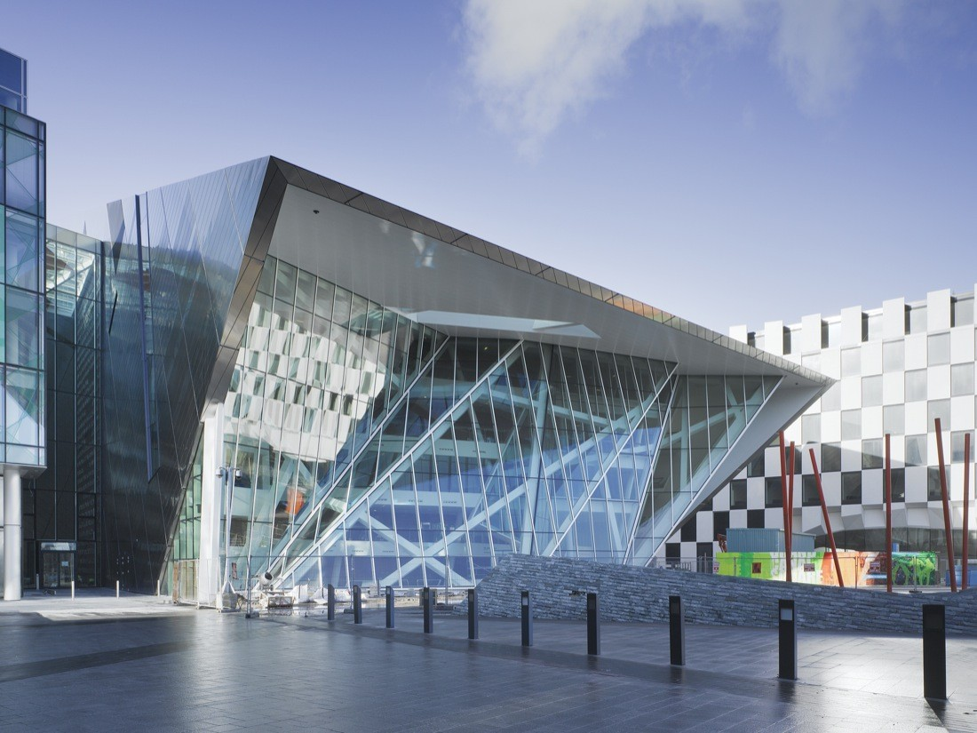 Grand Canal Theatre / Daniel Libeskind, © Ros Kavanagh
