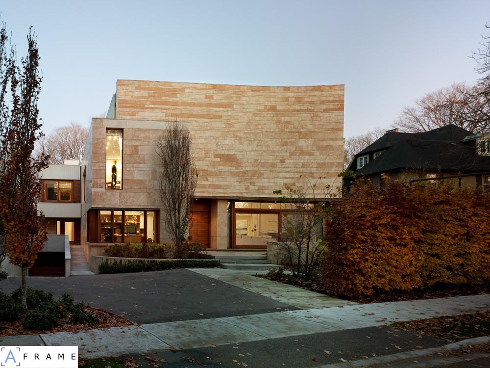 Ravine Residence / Hariri Pontarini Architects, © Ben Rahn/A-Frame