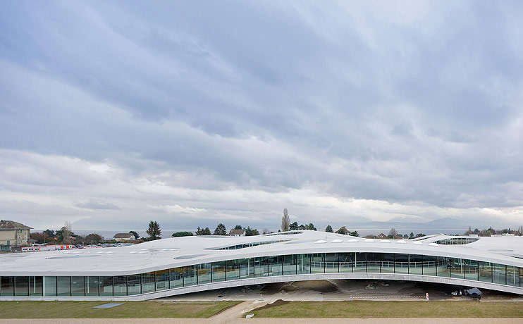 Rolex Learning Center / SANAA , © Iwan Baan