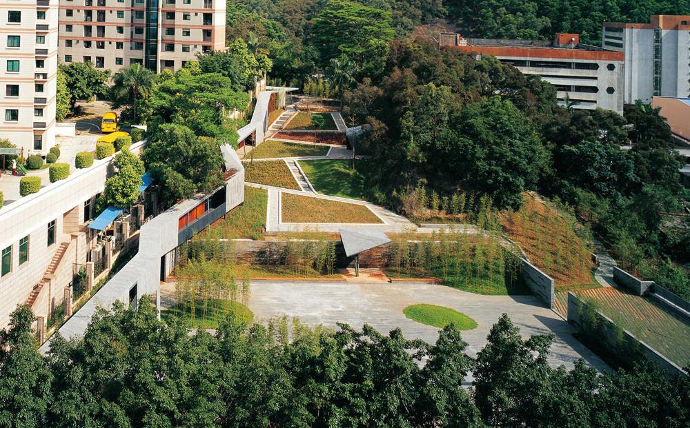 Jade Bamboo Culture Plaza / Urbanus, © Meng Yan