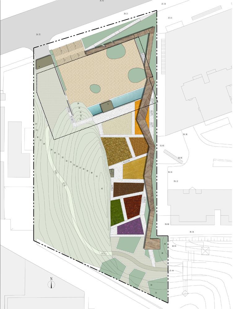 Jade Bamboo Culture Plaza,general plan
