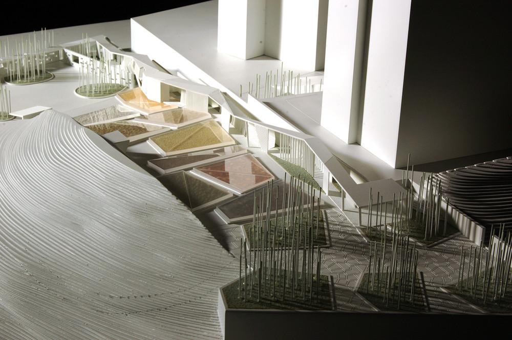 Jade Bamboo Culture Plaza,model 02