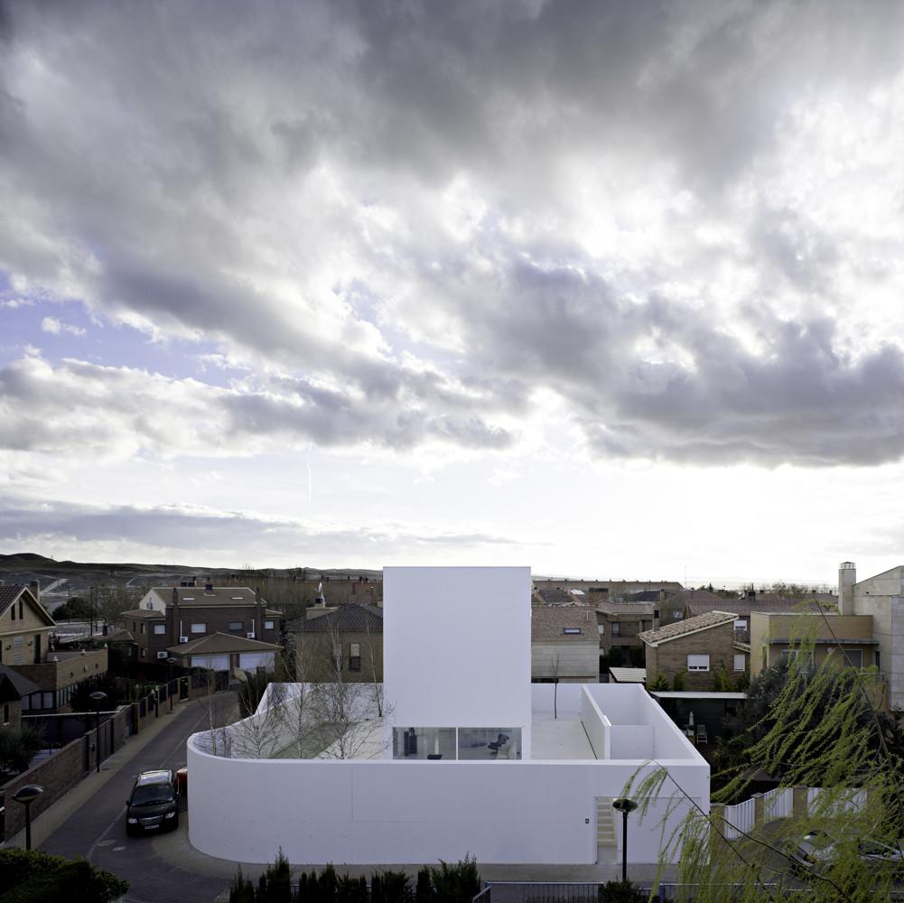Moliner House / Alberto Campo Baeza, © Javier Callejas