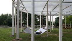 Oval shade in Gorky Park / Bureau Alexander Brodsky