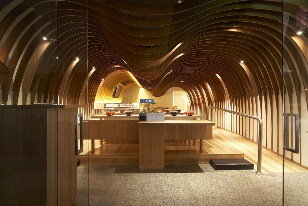 Cave restaurant koichi takada architects archdaily