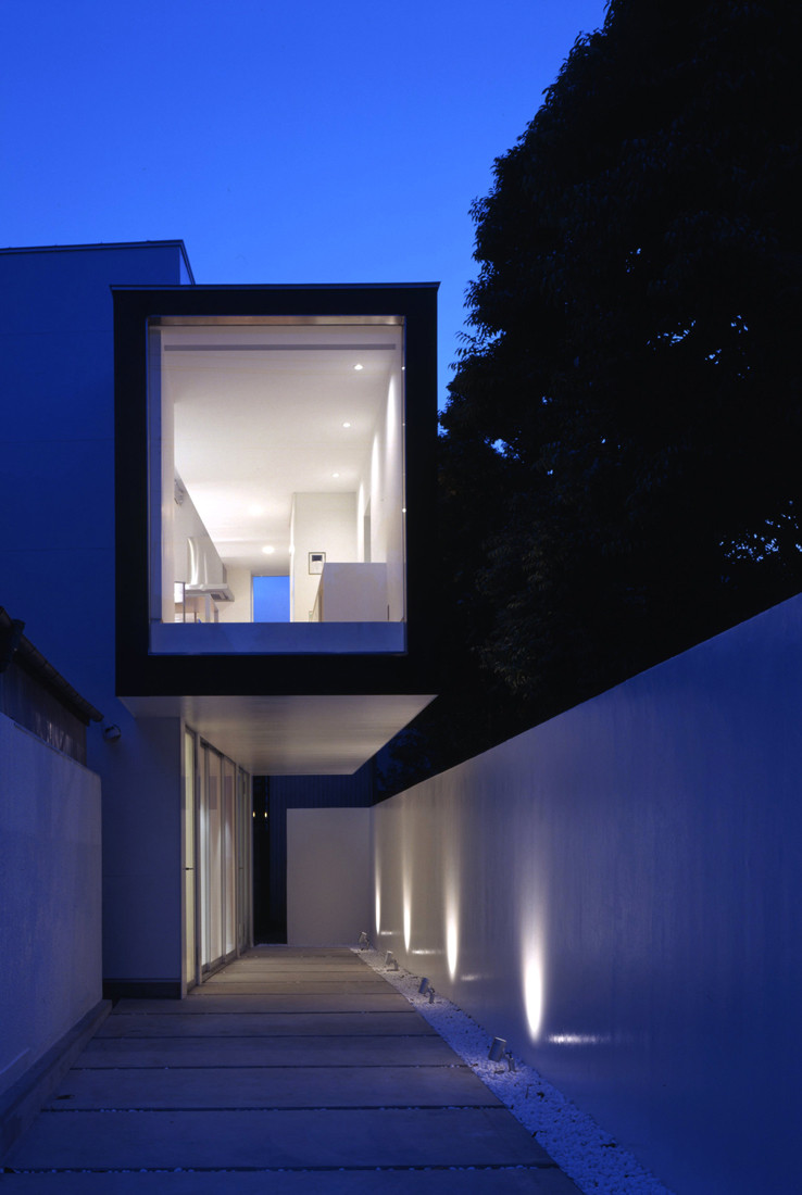 House with Court / K+S Architects, © Hiroshi Ueda
