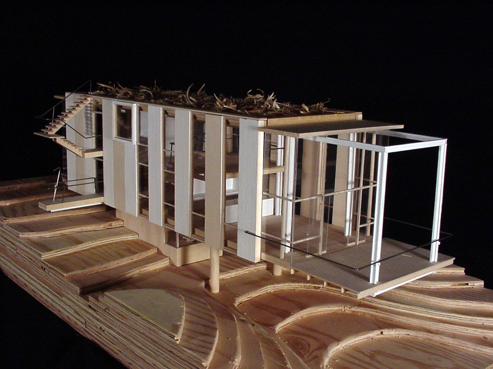 Architecture House Model gallery of cantilever house / anderson anderson architecture - 12