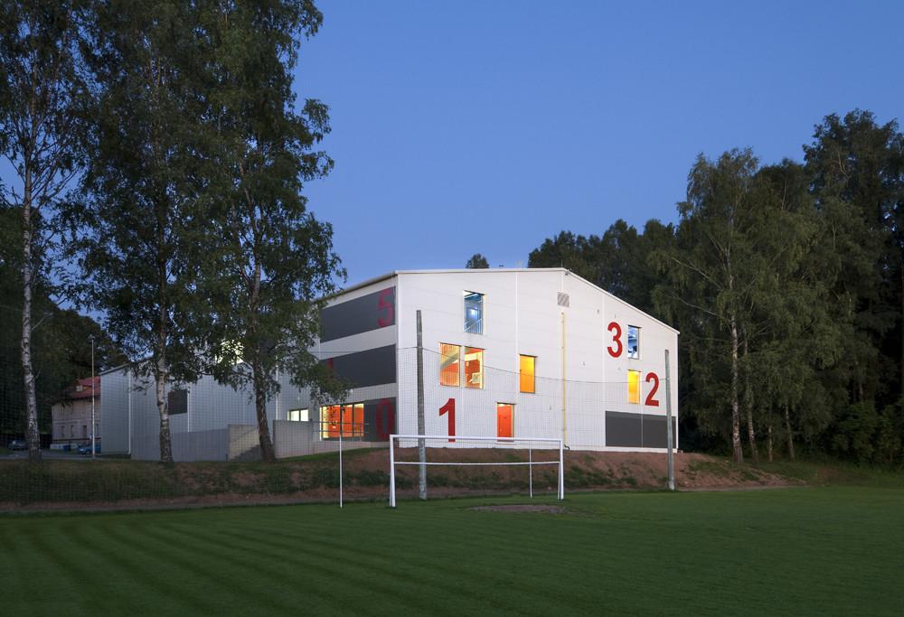 Dolni Dobrouc Sport Hall / Alexandr Skalický Architekt, © Ester Havlova