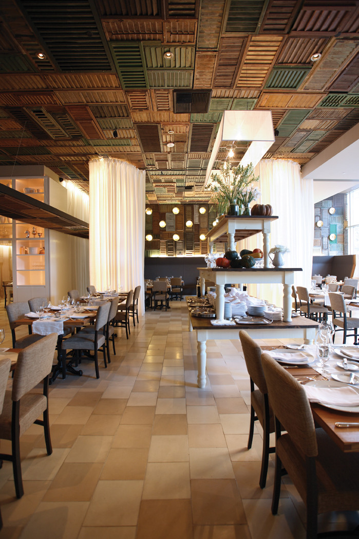 Gallery of ella dining room and bar uxus 5 for Restaurant window design