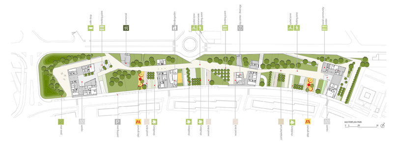 Gallery of living in a park mab arquitectura bms for Plan de arquitectura
