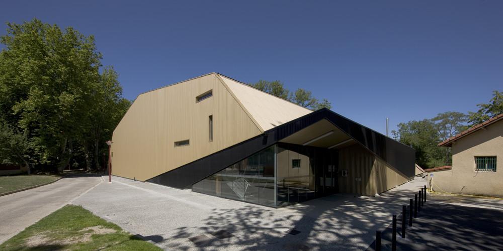 Gymnase CREPS / Laurens & Loustau Architectes, © Stéphane Chalmeau