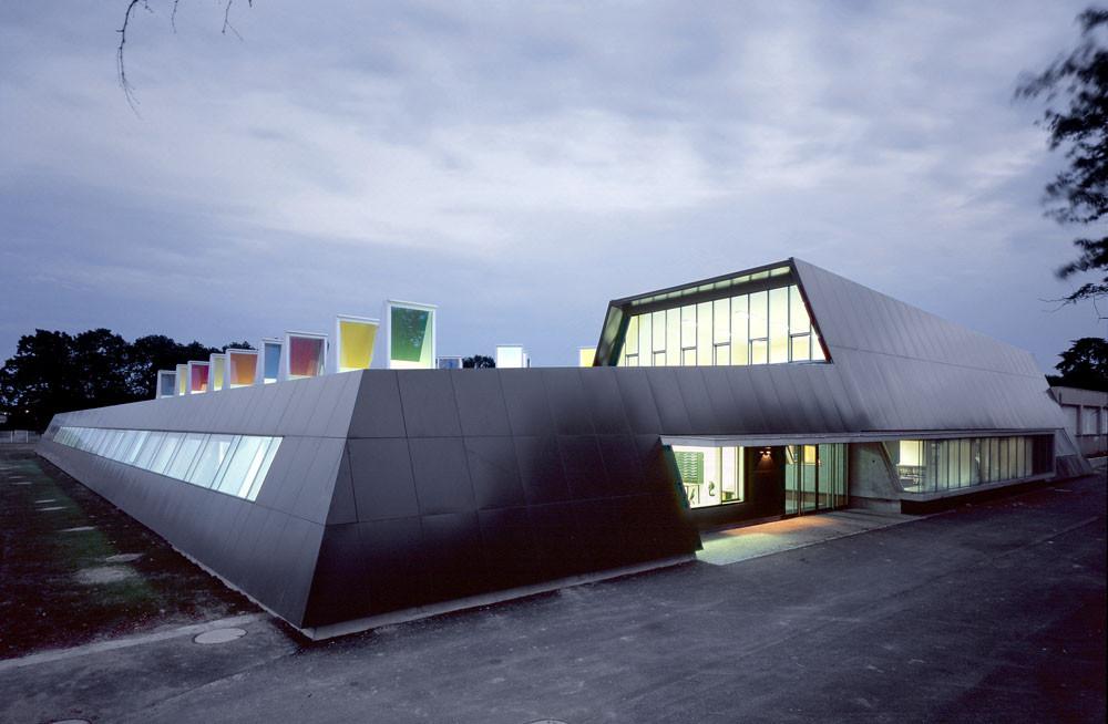 Lycée de Jolimont / Laurens & Loustau Architectes, © Damien Aspe