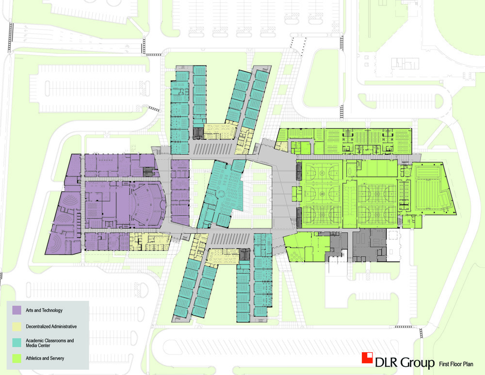 Gallery of metea valley high school dlr group 7 Green plans