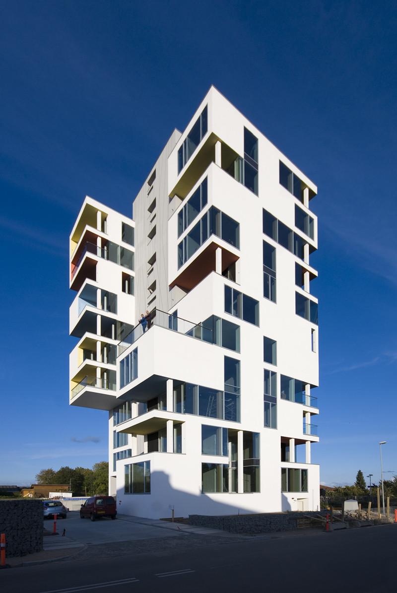 Siloetten / C. F. Møller Architects + Christian Carlsen Arkitektfirma, © Julian Weyer