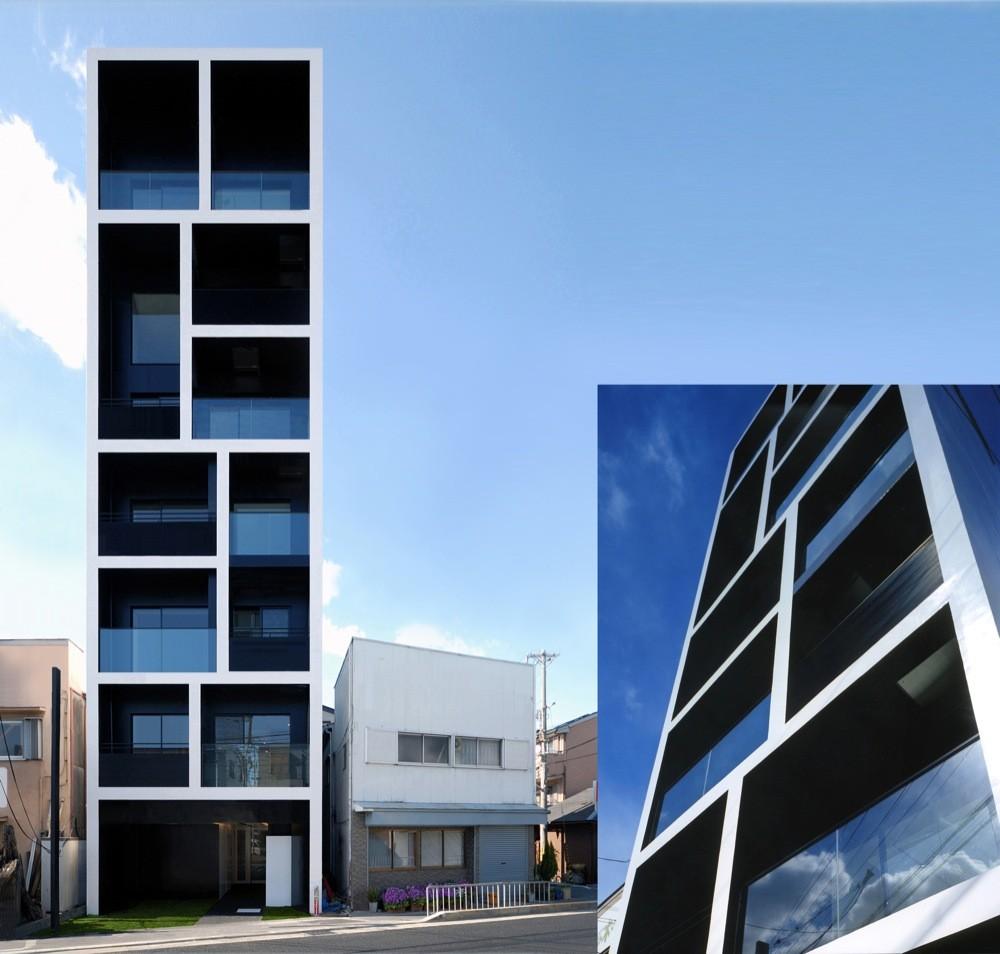 Gallery Of Apartment In Katayama  Matsunami Mitsutomo - Small apartment buildings