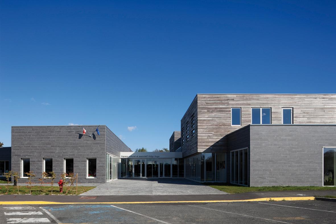 Cultural Centre / RMDM Architectes, © Herve Abbadie