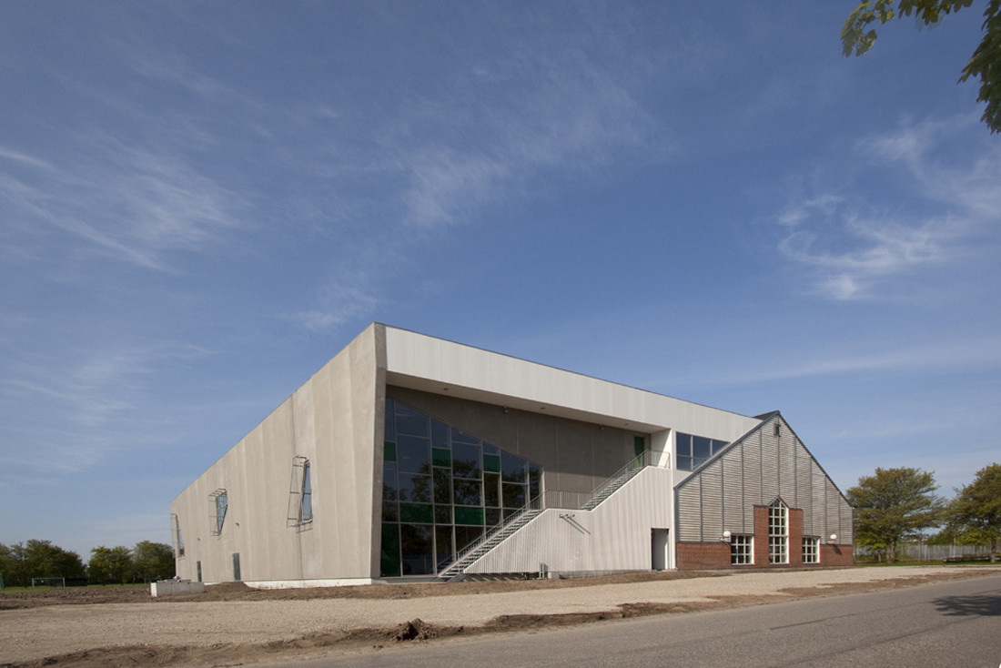 Aarhus Gymnastics and Motor Skills Hall / C. F. Møller Architects, © Poul Nyholm