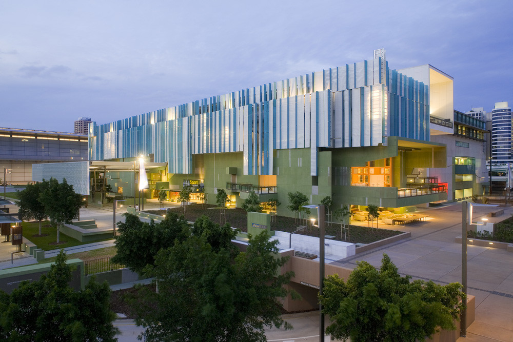 State Library of Queensland / Donovan Hill + Peddle Thorp Architects, © Jon Linkins