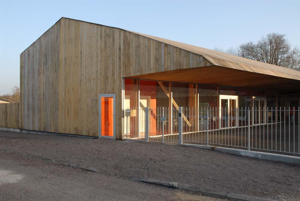 Ecole Maternelle de Chaource / Colomès + Nomdedeu Architectes, © Guilhem-Ducléon