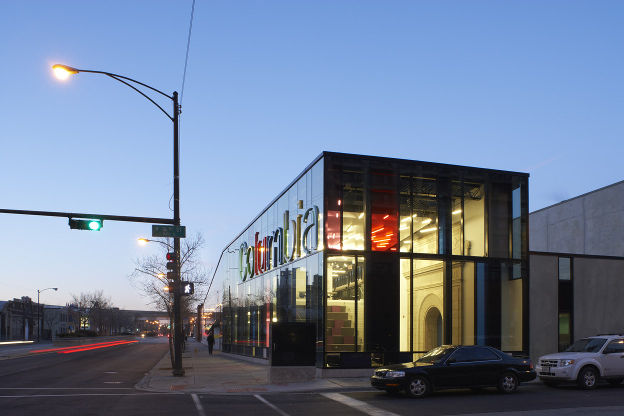 Columbia College Chicago Media Production Center / Studio Gang Architects, © Steve Hall