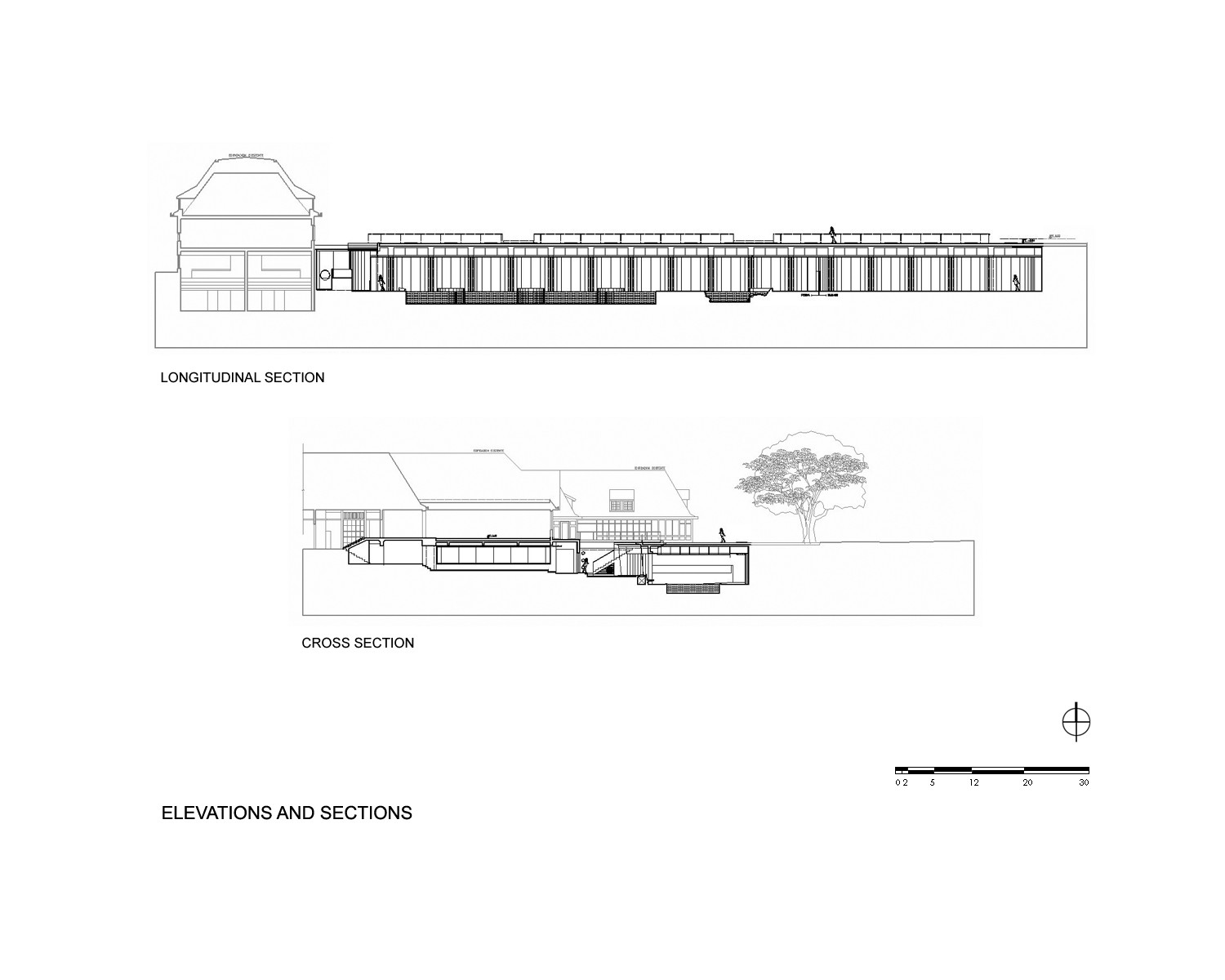Ping Mall Plan Elevation Section : Gallery of p w c spa fitness center plan
