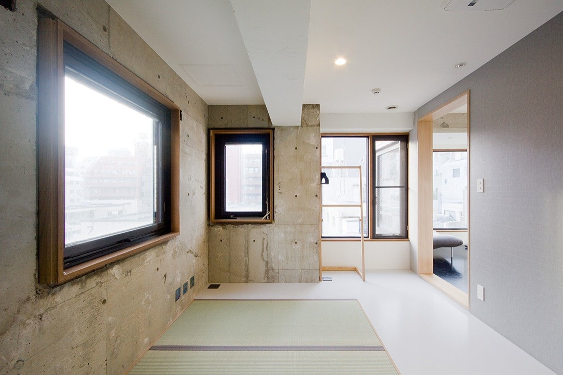 Hotel nuts upsetters architects archdaily for Design hotel japan
