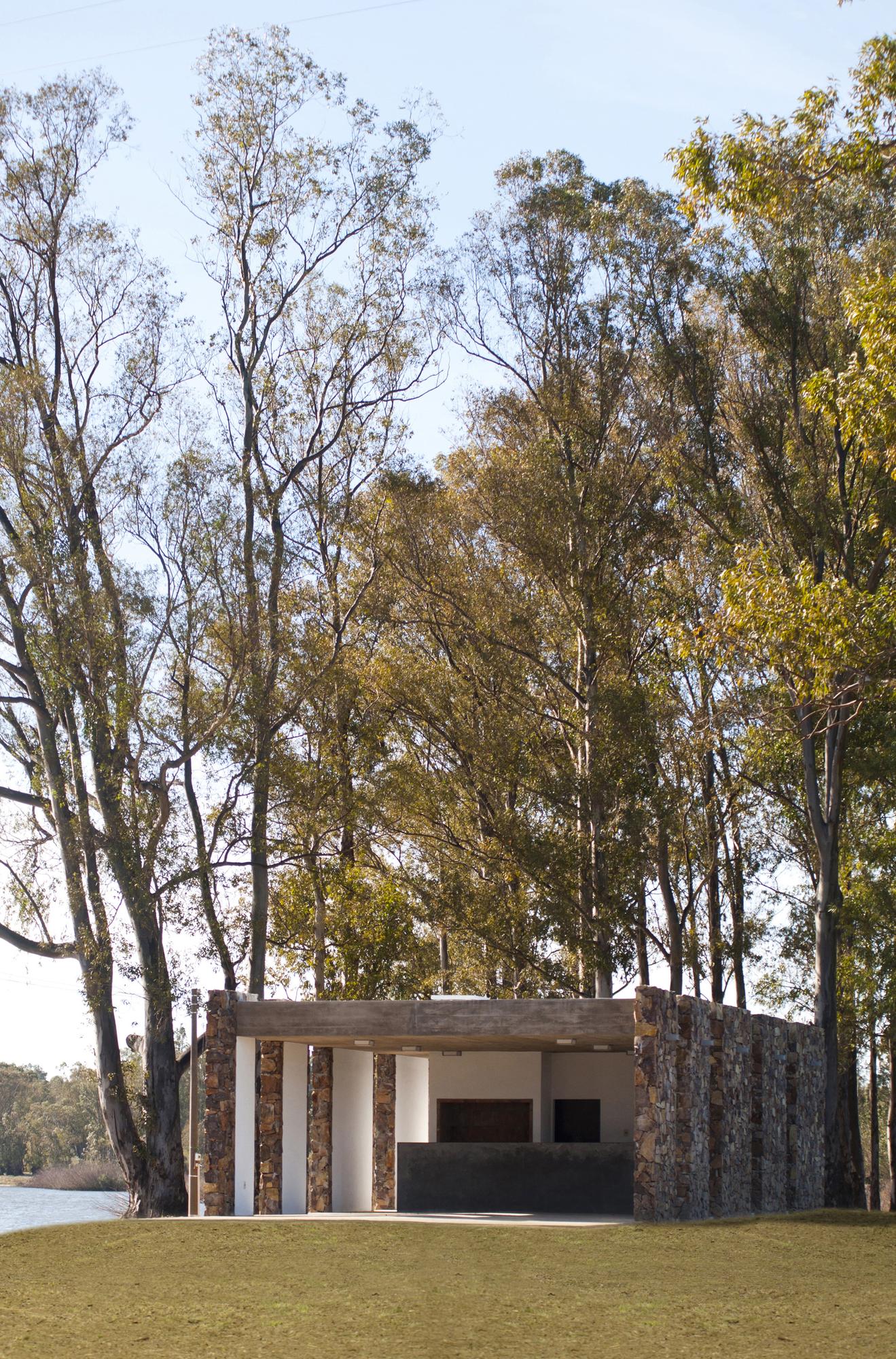Outdoor Food Court In Centenario Town / Jaf Architecture + Design