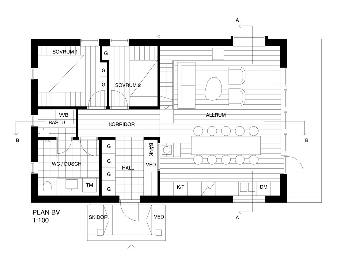 30961 furthermore Raised also 500d84c328ba0d66250002e4 Fjallhus Residence Ps Arkitektur Image moreover House Floor Plans 4 Bedroom 2 Bath House Plans 4 Bedroom House Plans additionally Rambler house plans. on simple floor plans open house