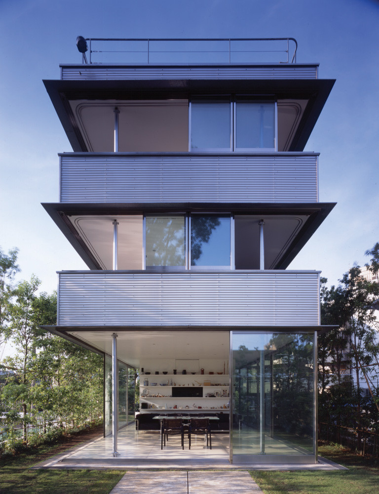 Wall less house / Tezuka Architects