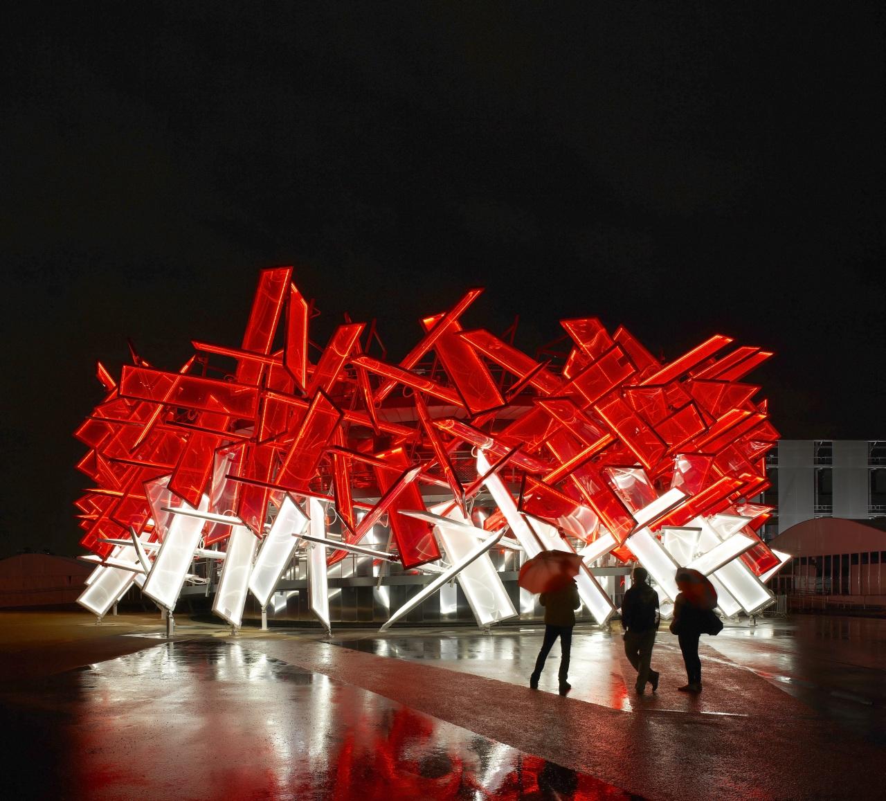 Coca Cola Beatbox Pavilion / Pernilla & Asif, © Hufton & Crow