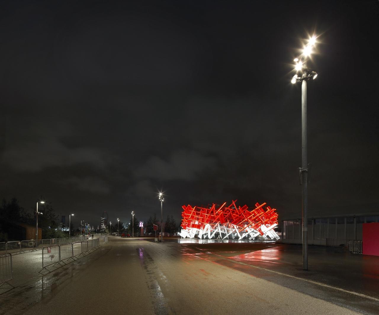 Coca Cola Beatbox Pavilion / Pernilla & Asif