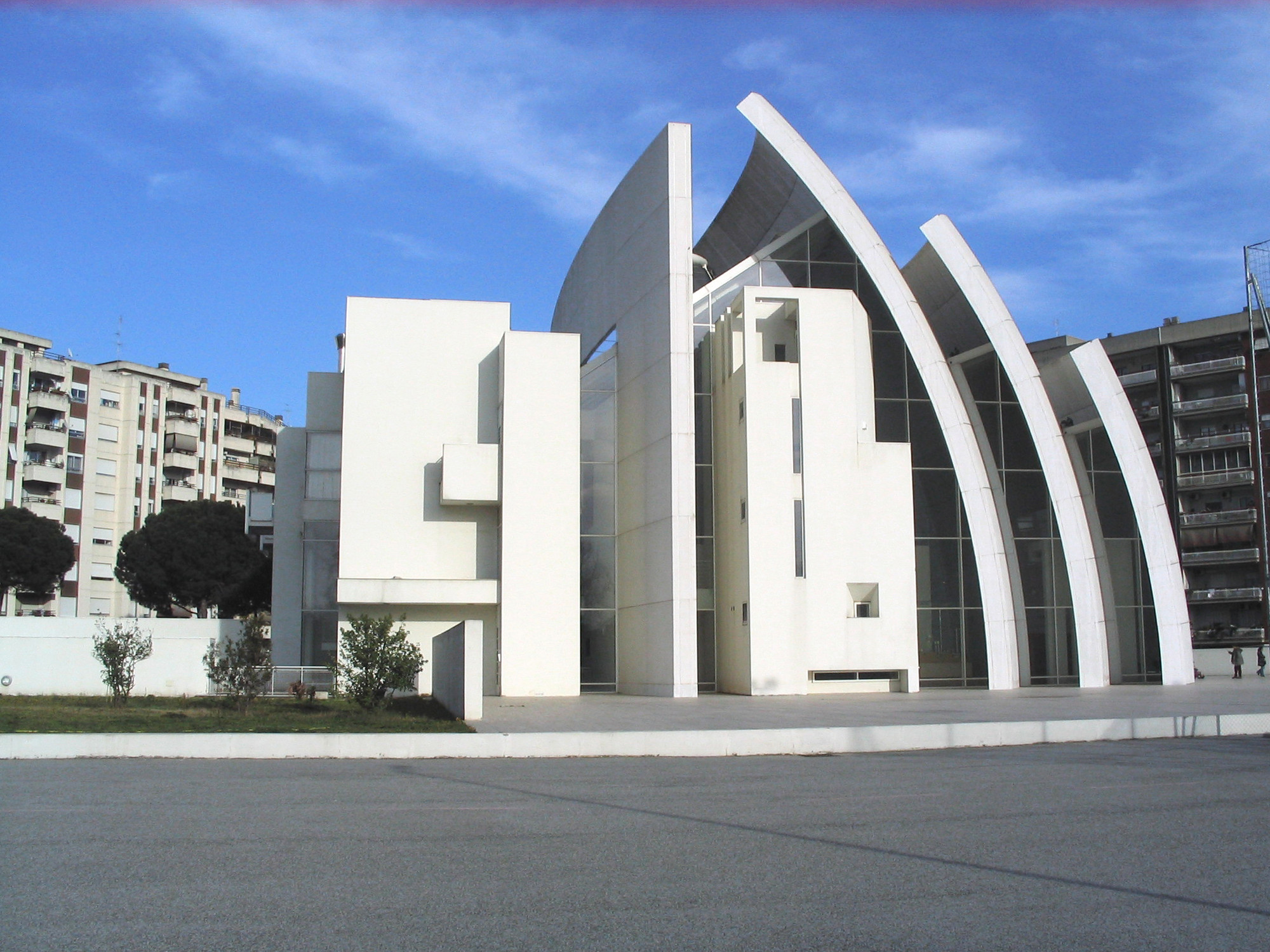 Church Of 2000 Richard Meier Partners Archdaily