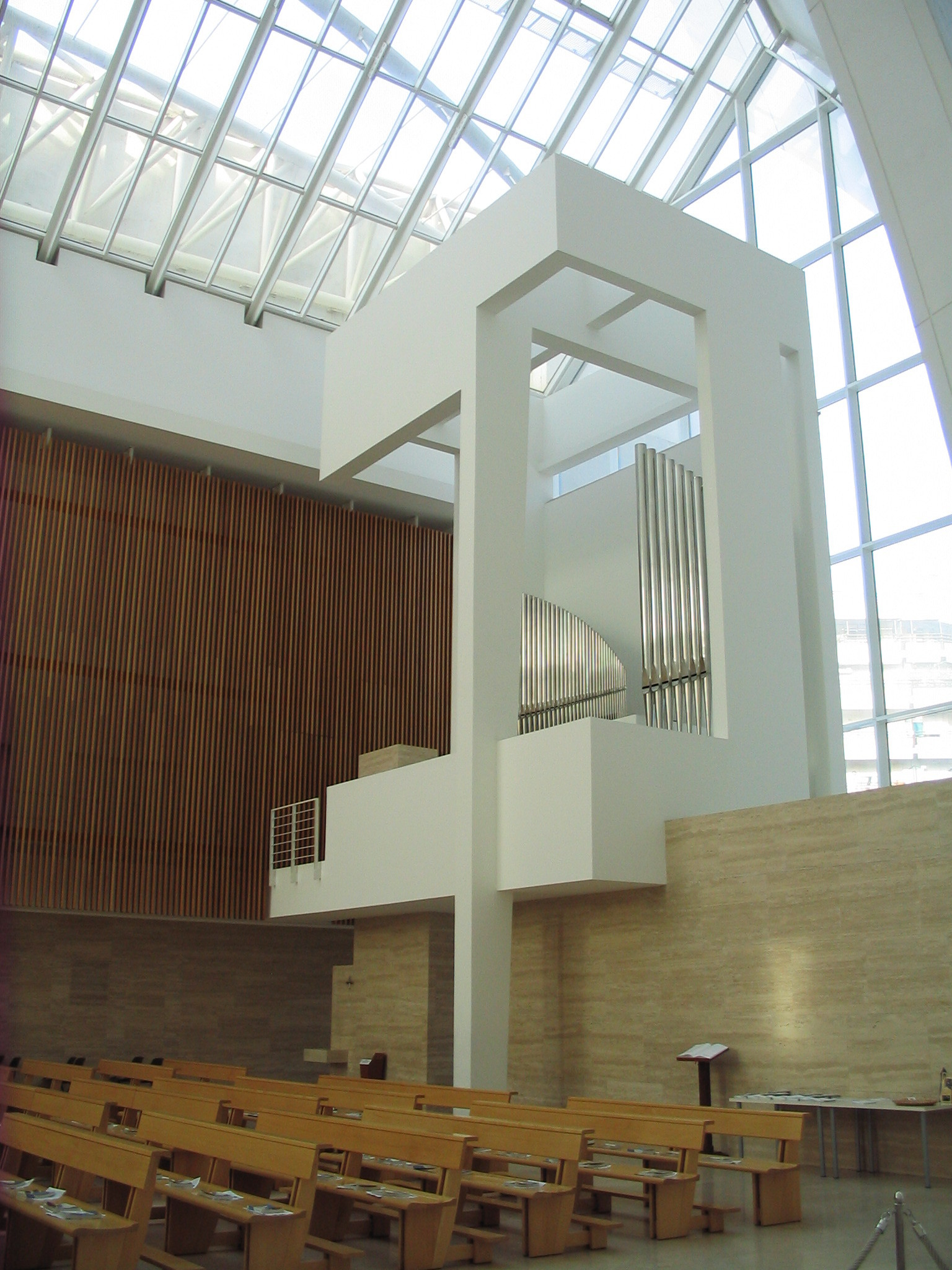 Gallery of church of 2000 richard meier partners 8 for The jubilee church