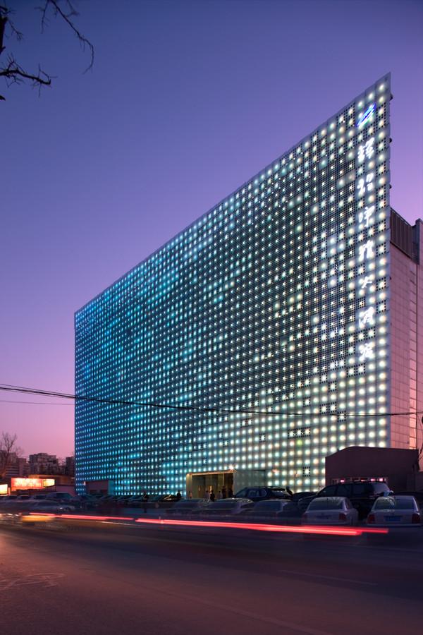 Wall Design Energy : Gallery of greenpix zero energy media wall