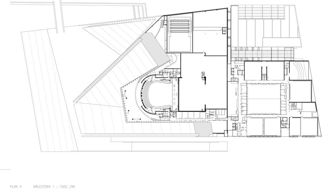 Oslo opera house plan