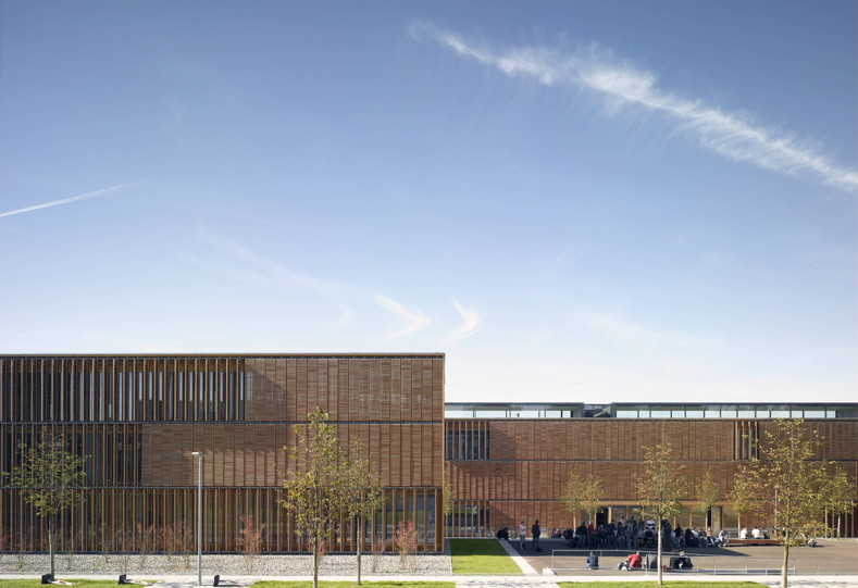 aalen university extension mgf architekten archdaily