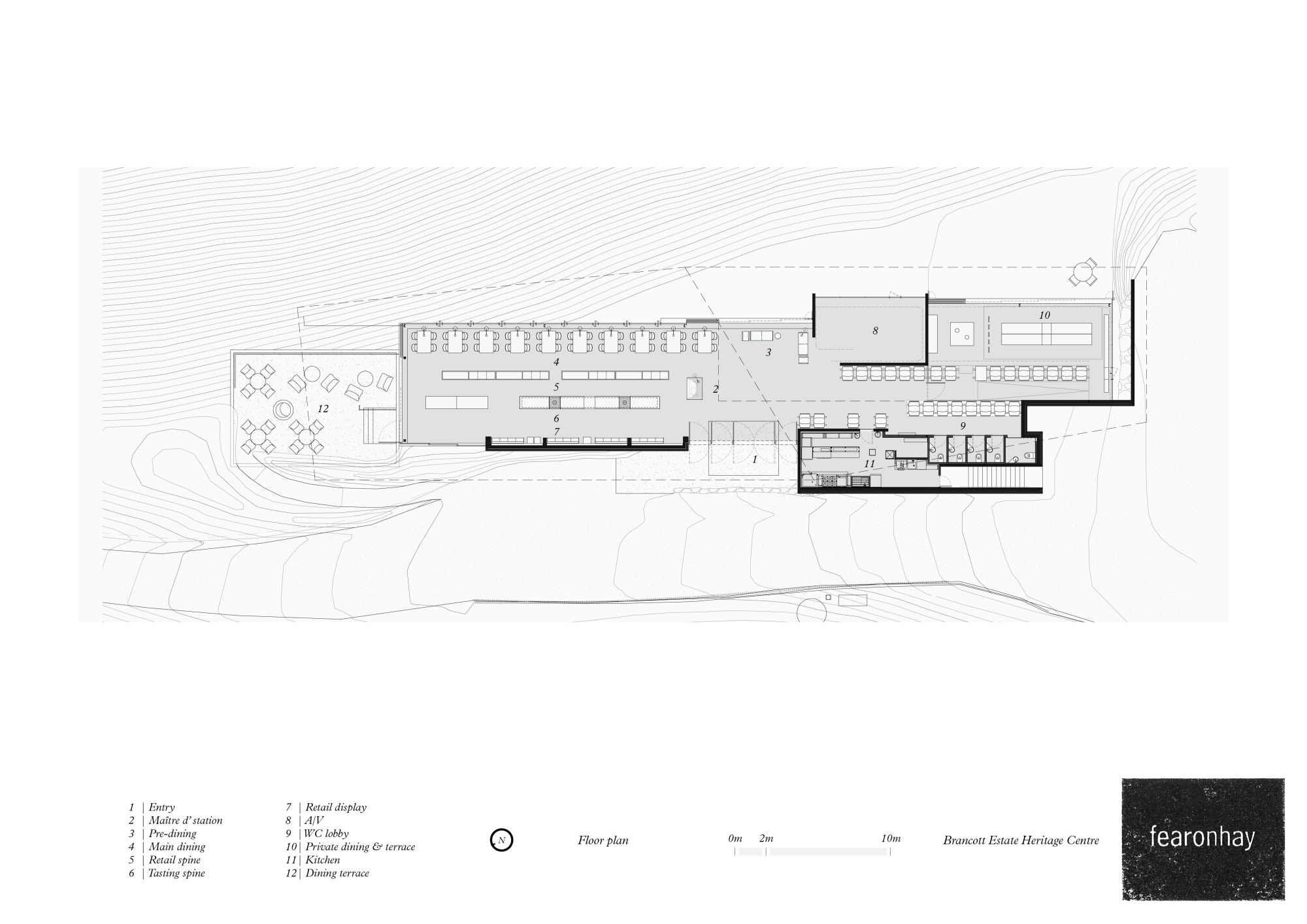 Gallery of brancott estate heritage centre fearon hay for Fha house plans