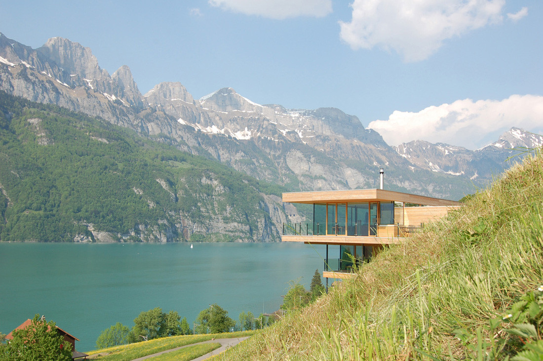 Walensee House / km Architektur
